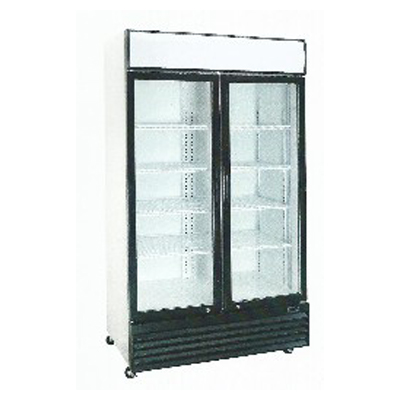 二門滑門冷藏櫃<br>型號:SS-P600WA-B<br>型號:SS-P688WB-B